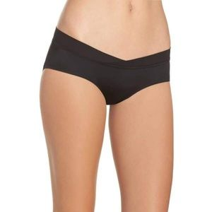 Sam Edelman Crossfront Hipster Briefs SMALL Black